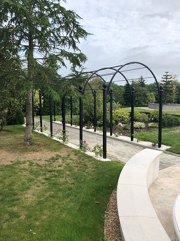 Garden-Archway-Metal.-St-Albans-Walkway.-A-Rose-Pergola-by-Classic-Garden-Elements.-Hot-dip-galvanised.-Best-quality.-10-years-guarantee-on-rust.-Bespoke-items-made-photo-9