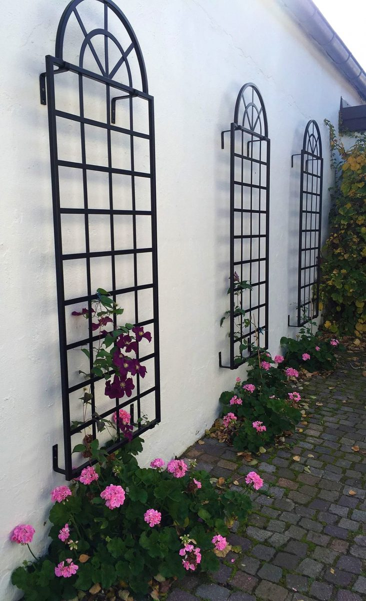 Orangery Trellis Iron Wall Trellis To Order At Classic