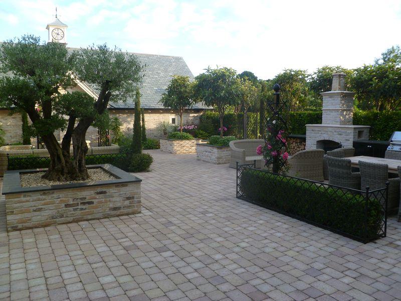 wrought iron garden eding