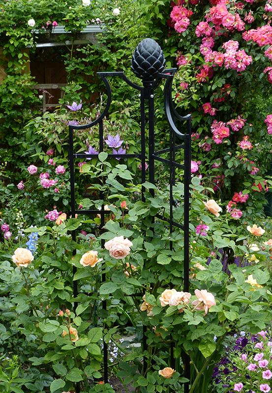 obelisk for roses