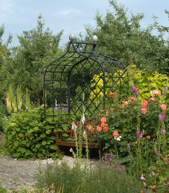 Futuristic Victorian Front Gardens 9 On Garden Design: Classic Garden Elements UK