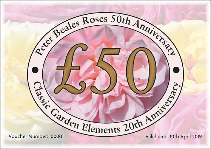 Classic Garden Elements Gift Voucher