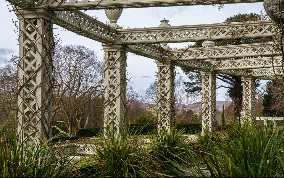Pergola at Bodnant Garden