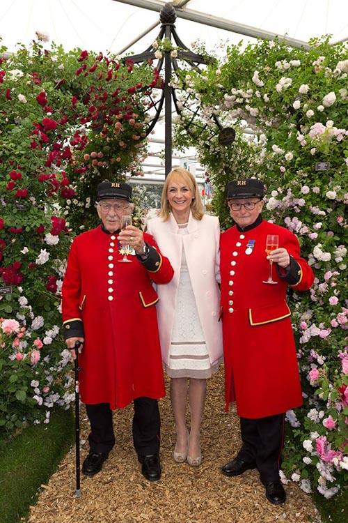 Wedding Gazebo 'Lyme Park' at the Chelsea Flower Show