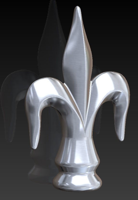 Fleur de Lys Finial by Classic Garden Elements