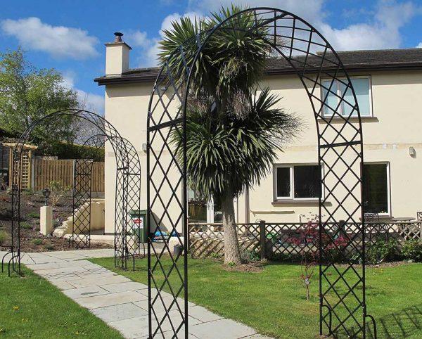 Three Bagatelle Round Top Garden Arches
