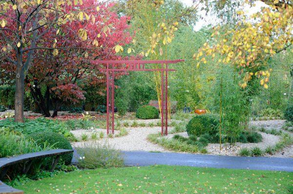 Japanese Metall Gate for the Garden