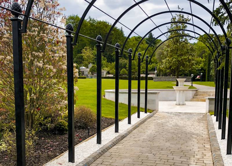 Metal Pergola Systems - Rose Tunnel Walkways - Wedding Arches - Metal Arbours