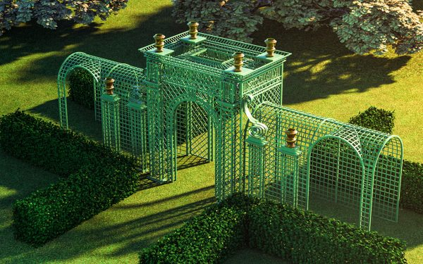 Replica Versailles-Treillage-LOUIS-IV---bird-view