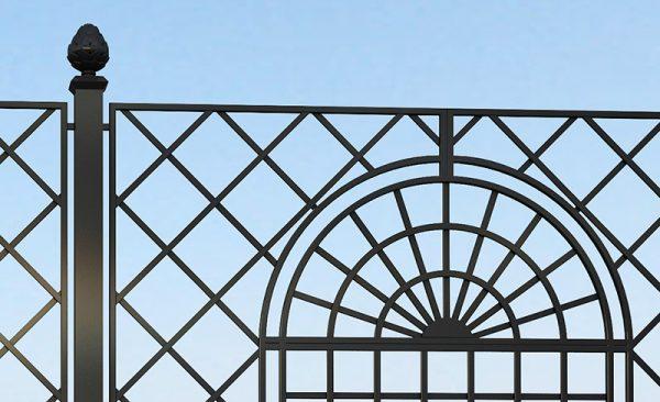 Orangery Wrought-Iron Railing