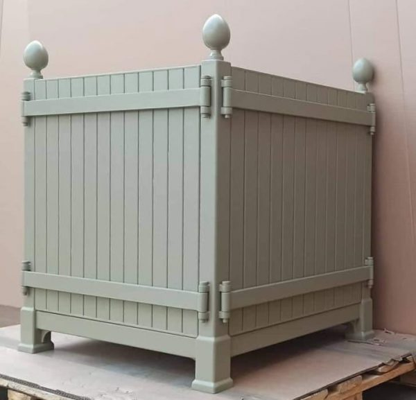 Caisse de Versailles made of steel - Woburn Abbey - by Classic Garden Elements