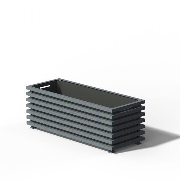 E17-Long-Ibiza-Planter-DB-703-Metallic
