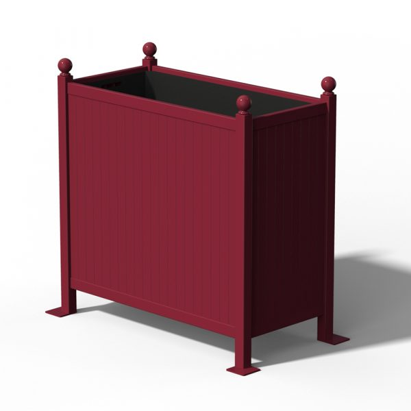 R25-Versailler-Planter-Room-Devider-in-RAL-3005-Wine-Red