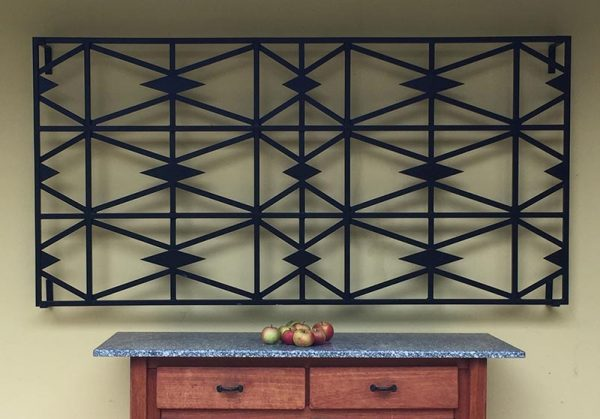 Cubist Wall Trellis