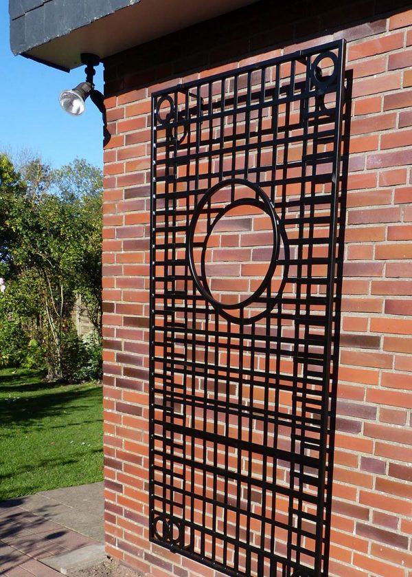 Knebworth House Metal Wall Trellis