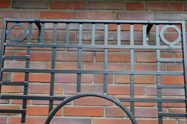 Knebworth House Metal Wall Trellis Detail