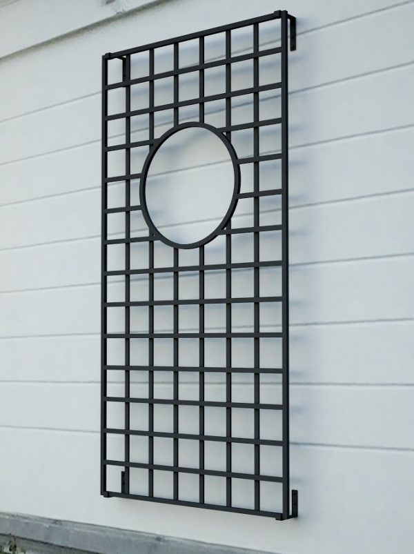 Lamport Hall Metal Wall Trellis