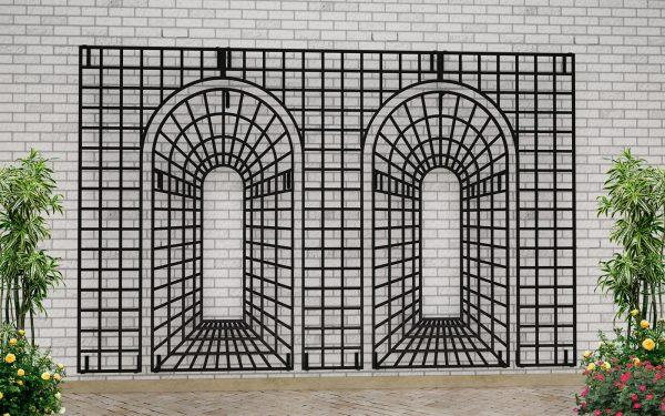 Houghton Perspective Garden Trellis Set