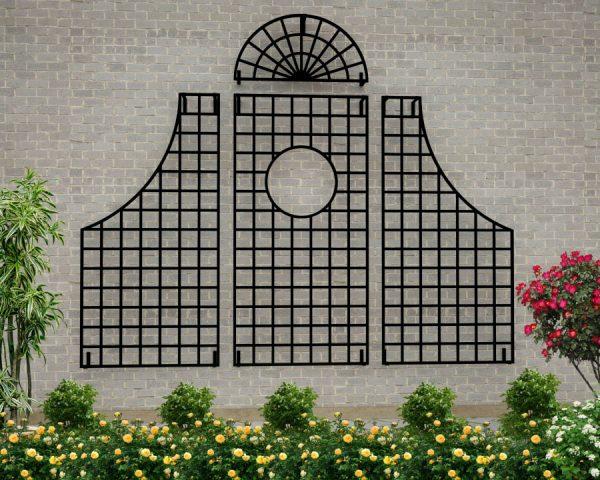 Lamport Hall Treillage Grand Set